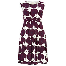 Buy Studio 8 Marilyn Poppy Print Dress, African Violet Online at johnlewis.com