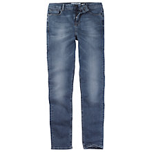 Buy Fat Face Slim Leg Jeans, Opal Blue Online at johnlewis.com