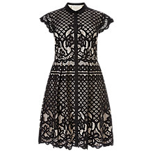 Buy Studio 8 Sydney Lace Dress, Black Online at johnlewis.com