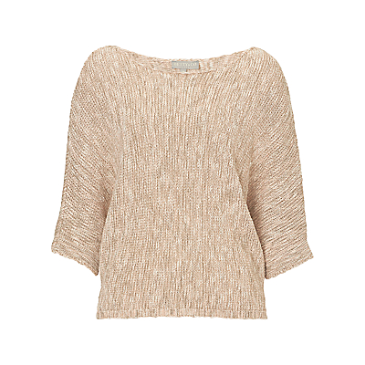 Betty & Co. Batwing Jumper, Nature/Rosé
