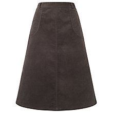 Buy East Corduroy Skirt, Slate Online at johnlewis.com