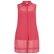 Buy Studio 8 Lynette Blouse, Raspberry Online at johnlewis.com
