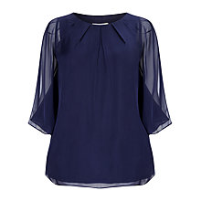 Buy Studio 8 Virginia Blouse, Navy Online at johnlewis.com