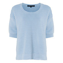 Buy French Connection Heatwave Dinka Ribbed Jumper Online at johnlewis.com