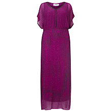 Buy Studio 8 Verina Sequin Maxi Dress, Magneta Online at johnlewis.com