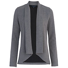 Buy French Connection Josie Jersey Drape Jacket, Grey Mel Online at johnlewis.com