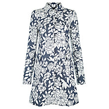Buy Hobbs Jessica Mac, Ivory/Navy Online at johnlewis.com