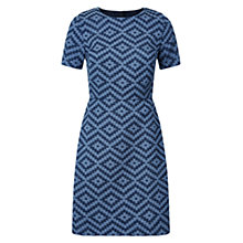 Buy Hobbs Elenore Dress, Indigo Navy Online at johnlewis.com