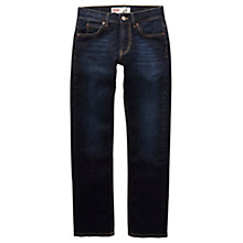 Buy Levi's Boys' 511 Slim Fit Jeans, Dark Blue Online at johnlewis.com