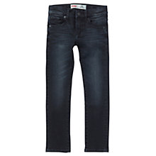 Buy Levi's Boys' 510 Skinny Fit Jeans, Black Online at johnlewis.com