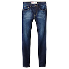 Buy Levi's Boys' 510 Skinny Fit Jeans, Dark Blue Online at johnlewis.com