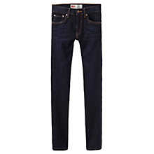 Buy Levi's Boys' 519 Extreme Skinny Fit Jeans, Dark Blue Online at johnlewis.com