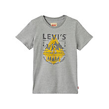 Buy Levi's Boys' Ervay T-Shirt, Grey Online at johnlewis.com