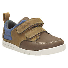 Buy Clarks Children's Crazy Jan Shoes, Tan Online at johnlewis.com