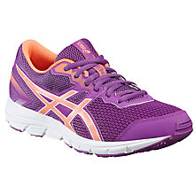 Buy Asics Children's Gel Zaraca 5 GS Lace Trainers, Purple/Multi Online at johnlewis.com