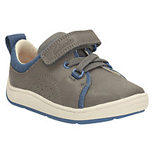 Buy Clarks Children's First Maxy Tay Shoes, Grey Online at johnlewis.com