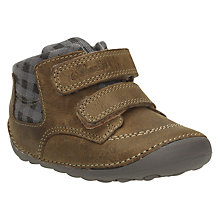 Buy Clarks Baby Tiny Jay Shoe, Tan Online at johnlewis.com