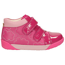 Buy Clarks Children's Lil Folk Emy Boots, Pink Online at johnlewis.com