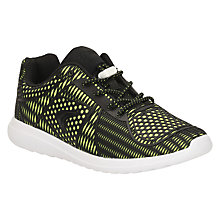Buy Clarks Children's Sprint Lane Sports Shoes, Yellow Online at johnlewis.com