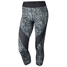 Buy Nike Pro Hypercool Tidal Capris, Grey Online at johnlewis.com