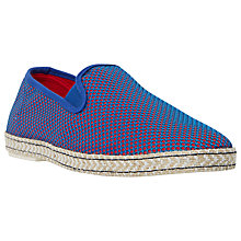Buy Dune Firecracker Canvas Espadrilles Online at johnlewis.com