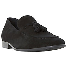 Buy Dune Result Double Tassel Loafers, Black Online at johnlewis.com