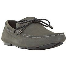 Buy Dune Barnacle Suede Driving Loafers Online at johnlewis.com