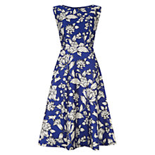 Buy Hobbs Iris Dress, Sable Navy Online at johnlewis.com
