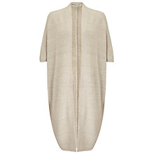 Buy Miss Selfridge Cocoon Cardigan, Oatmeal Online at johnlewis.com