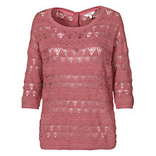 Buy Fat Face Pembrooke Pointelle Jumper Online at johnlewis.com