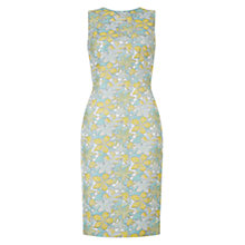 Buy Hobbs Cicely Jacquard Dress, Soft Mint Online at johnlewis.com