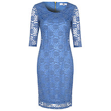 Buy True Decadence Lace Layer Midi Dress, Blue Online at johnlewis.com