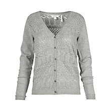 Buy Fat Face Hamble Pointelle Cardigan Online at johnlewis.com