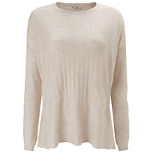 Buy Miss Selfridge Slouchy Fine Gauge Jumper, Oatmeal Online at johnlewis.com