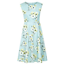 Buy Hobbs Anemone Dress, Soft Mint Multi Online at johnlewis.com