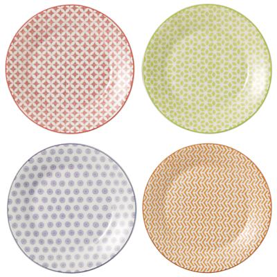 Royal Doulton Pastels Plates, Set of 4