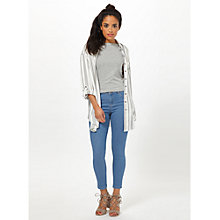 Buy Miss Selfridge Petite Sofia Jeans, Blue Online at johnlewis.com
