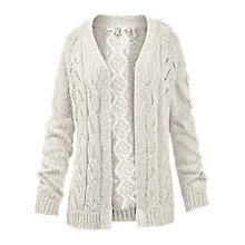 Buy Fat Face Salisbury Slub Edge To Edge Cardigan Online at johnlewis.com