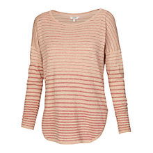 Buy Fat Face Shawbury Stripe Jumper, Sunkissed Online at johnlewis.com
