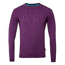Buy Ted Baker Dymojak Sweater, Purple Online at johnlewis.com