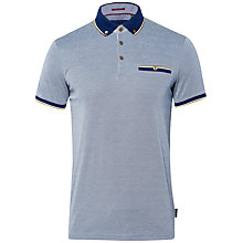 Buy Ted Baker Fabalas Polo Shirt, Navy Online at johnlewis.com