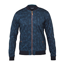Buy Ted Baker Reversible Bomber Jacket, Navy Online at johnlewis.com