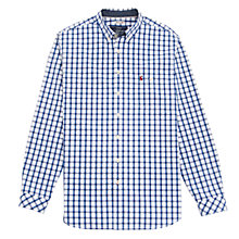 Buy Joules Hewney Classic Fit Check Shirt, Blue/White Online at johnlewis.com