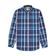 Buy Joules Lyndhurst Slim Fit Tartan Shirt, Blue Online at johnlewis.com