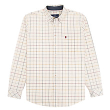 Buy Joules Wilby Oxford Check Shirt, Cream Multi Check Online at johnlewis.com