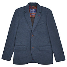 Buy Joules Townhouse Jersey Blazer, Blue Melange Online at johnlewis.com
