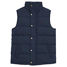 Buy Joules Trail Padded Gilet, Navy Online at johnlewis.com