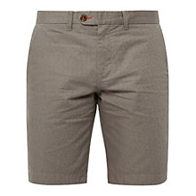 Buy Ted Baker Jamesho Shorts, Green Online at johnlewis.com