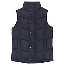 Buy Joules Rutland Padded Gilet, Marine Navy Online at johnlewis.com