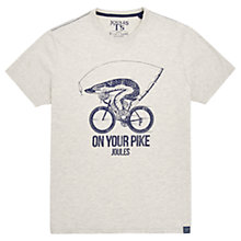 Buy Joules On Your Pike Graphic T-Shirt, Antique Online at johnlewis.com